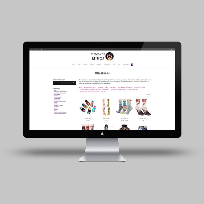 Proyecto Web Tienda de Búhos