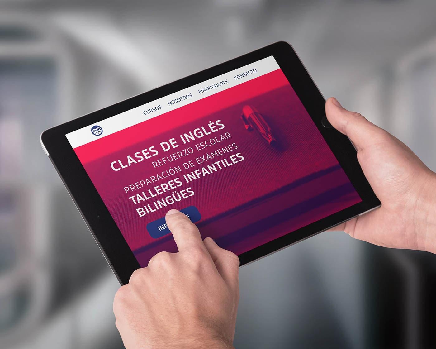 Centro Bellevue versión tablet